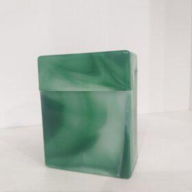 Plastična tabakera za 24 cigarete-zelena