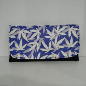Torbica za duvan sa lišćem-plava