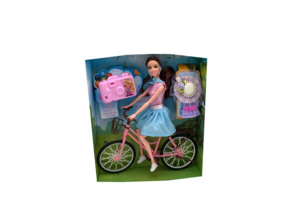lutka i bicikl