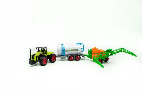 traktor i cisterna
