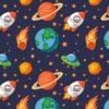 posteljina svemir